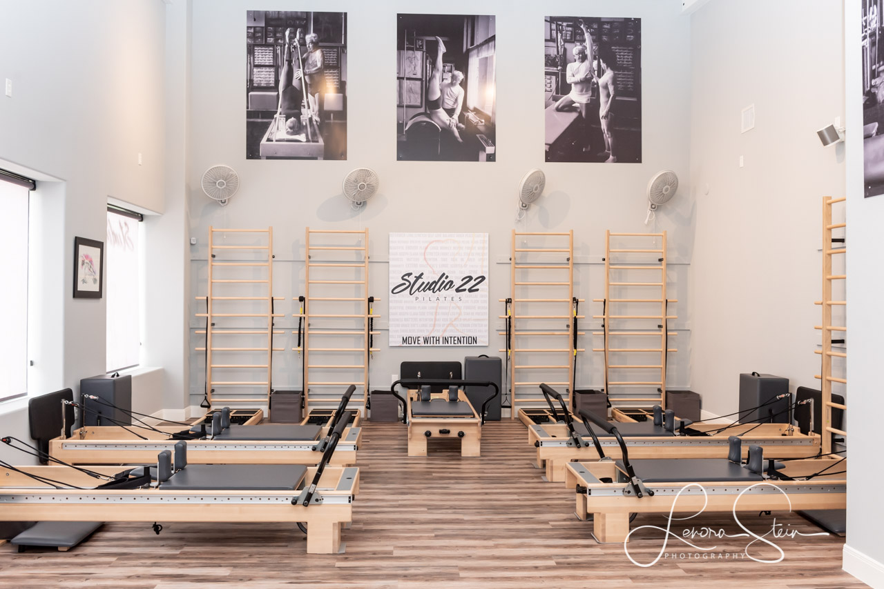 Branding Pilates Studio equipment The Woodlands TX