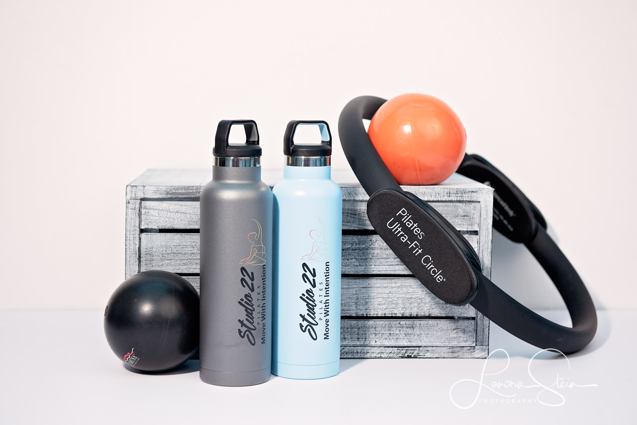 pilates water bottles and weight balls The Woodlands TX